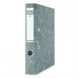 DONAU iratrendező, A4, 50 mm, karton, élvédő sínnel, Eco, fekete