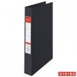 ESSELTE gyűrűskönyv, A4, 40 mm, 2 gyűrűs, Standard, fekete, E14454