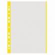 DONAU genotherm, lefűzhető, A4, 40 mikron, narancsos, színes szélű, sárga