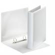 ESSELTE gyűrűskönyv, A5, 47 mm, 2 gyűrűs, D alakú, PVC, panorámás, fehér