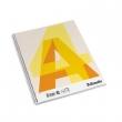 ESSELTE spirálfüzet, A4, 70 lapos, perforált, 4 lyukú, kockás