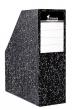 iratpapucs, 90 mm, karton, merevfalú, fóliázott, márvány