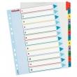 ESSELTE regiszter, A4, 1-12, laminált karton, maxi, újraírható