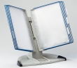 TARIFOLD asztali állvány, A4, 10 zsebes, Design, kék