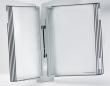 TARIFOLD bemutatótábla tartó, fali, 10 db bemutatótáblával, Design, szürke