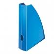 LEITZ iratpapucs, műanyag, 60 mm, Wow, metál kék