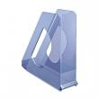 ESSELTE iratpapucs, műanyag, 68 mm, Europost, áttetsző kék