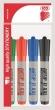 ICO flipchart marker, 1-3 mm, Artip 11 XXL, kúpos, készlet, 4 különböző szín