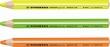 STABILO szövegkiemelő ceruza, 5,5 mm, Greenlighter, sárga