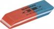 DONAU radír, 7301,kombinált, kék/piros