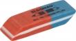 DONAU radír, 7302, kombinált, kék/piros