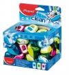 MAPED hegyező, egylyukú, műanyag, CLEAN, tartályos