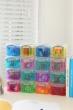 REALLY USEFUL BOX tárolódoboz, műanyag, 16x0,14 liter, színes, aprócikkek számára