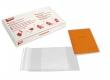 APLI könyvborító, áttetsző, állítható széllel, 280x530 mm