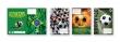 T-CREATÍV füzetborító, A5, papírbetétes, foci