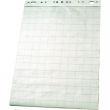 ESSELTE flipchart papír, 60x85 cm, 50 lap, sima-kockás