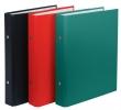DONAU gyűrűskönyv, A5, 30 mm, 2 gyűrűs, PP/karton, zöld