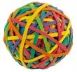 PANTA PLAST postázó gumi, 60mm-es, RubberBall, vegyes szín