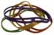 PANTA PLAST kötegelő gumi, A5,  X-band, vegyes szín