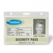 3L azonosítókártya tartó, műanyag, fekvő, 91x68 mm
