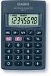 CASIO zsebszámológép, 8 digit, HL-4T