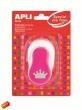 APLI mintalyukasztó, korona, Creative, rózsaszín