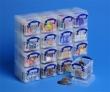 REALLY USEFUL BOX tárolódoboz, műanyag, 16x0,14 liter, átlátszó, aprócikkek számára