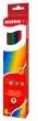 KORES színes ceruza készlet, háromszögletű, Triangular, 6 db-os