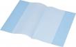 PANTA PLAST füzetborító, A5, narancsos, PP, 80 mikron, kék
