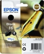 EPSON T16214010 tintapatron, Workforce WF2540WF, fekete, 5,4ml