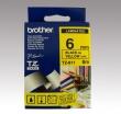 BROTHER feliratozógép szalag, 6 mm x 8 m, sárga/fekete