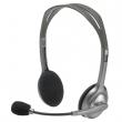 LOGITECH fejhallgató, sztereó, mikrofonnal, H110, fekete