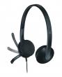 LOGITECH fejhallgató, sztereó, mikrofonnal, H340