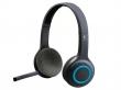 LOGITECH fejhallgató, sztereó, mikrofonnal, vezeték nélküli, H600