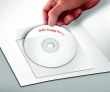 PANTA PLAST CD tartó zseb, 120x120 mm