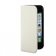 VERBATIM telefontok, iPhone 5 készülékhez, Folio Pocket, vanília fehér