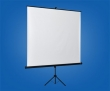 VICTORIA vetítővászon, hordozható, 180x180 cm, 1:1