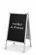 NOBO betétlap, A1, poszteres megállító táblához, krétával írható