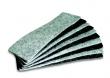 táblatörlő betét, táblatörlőhöz, 12,8x6 cm