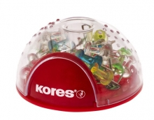 KORES térképtűtartó, mágneses, térképtűvel, Office Bubble
