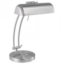 lámpa, asztali, 80 W, Bastia, szürke