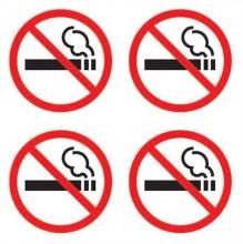 APLI információs matrica - tilos a dohányzás