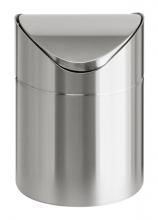 VEPA BINS billenős szemetes, 2 l, rozsdamentes acél, asztali, ezüst