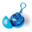esőkabát, gömb tokkal, kék
