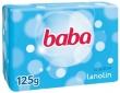 BABA krémszappan, 125 g, lanolinos