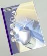 FELLOWES hőkötőborító, A4, 3 mm, 11-32 lap, Prestige, bőrhatású, fehér