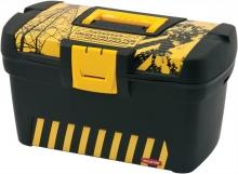 CURVER szerszámosláda, Herobox, fekete/sárga