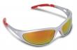 védőszemüveg, tükrös, fényvédő lencsével, Freelux, piros