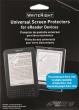FELLOWES képernyővédő fóliacsomag, eKönyv-olvasó készülékekhez, sztatikusan tapadó, WriteRight®, univerzális