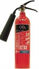 tűzoltó készülék, 2 kg, szén- dioxiddal oltó